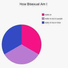 """capismycopilot: """"i saw this post and wanted to make one for all of my rad bisexuals out there """" Sou Bi, Bisexual Pride, Gay Pride, Bi Memes, Lgbt Quotes, Gay Aesthetic, Lgbt Community, Lol, Photos"""