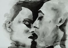 Vanilla and Pepper - Chinese ink on paper