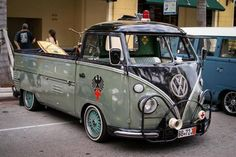 T1 VW Bus single cab pickup vintage