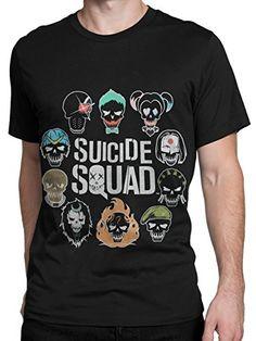 Suicide Squad - Camiseta para hombre Suicide Squad - Medium #camiseta #friki #moda #regalo