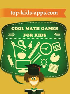 Developing a solid math foundation in early childhood is important for setting the stage for advanced math learning for higher education. Here is a list of 10 great math apps for kids. Best Math Apps, Educational Apps For Kids, Student Cartoon, Math Games For Kids, School Icon, Welcome Poster, Basic Math, Kids Education, Higher Education