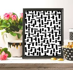 Pattern Print Black And White Wall Art Black Ink Minimalist #pattern #ink #blackink #black #artwork #artist #art #black_and_white #blackandwhite #homedecor #decor #etsy #etsyshop #etsyseller #instantdownload #lineart #inkart #nurseryprint #nursery #artprint #drawing #brush #draw #digital #digitalart #minimalism #minimalist #minimalistprint #handmade #arts #arte #white #illustration #wallartprint #patternprint #modern #modernart #modernartprint  #pinterest #frame #decor #printable…