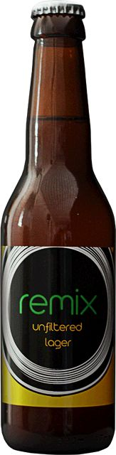 Beer Studio REMIX / Unfiltered Lager We respect tradition but refuse to be confined by it. The result is Umeå's first ever craft lager – our modern tribute to Czech pilsner.  Instead of using noble Saaz hops we've remixed new-generation Czech hops for a contemporary take on one of the world's most popular beer styles.  As always unfiltered and unpasteurised for maximum flavour!