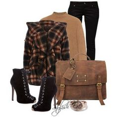 Brown Winter 2013 Outfits