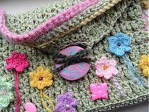 Detské tašky - detská zelená taštička - 4044203_
