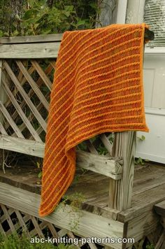ABC Knitting Patterns - Midas Touch Cable Shawl