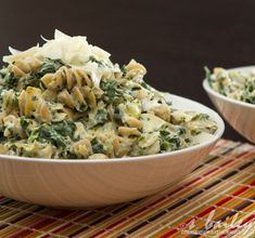 spinach artichoke mac and cheese. looks yummy