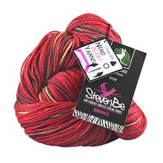 New yarn available at Stevenbe.com! Doctor Who inspired colorways from Wild Hare. Fezzes are Cool