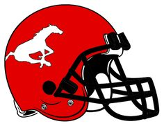 Calgary Stampeders Primary Logo (2012) - A racing white horse with ... 69612ccc4