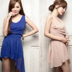$6.87    Fancy Sleeveless Dress with Round Neck and Lace Skirt