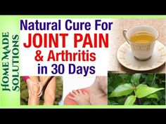 I'm 50 Years Old And This Drink Helped Me Eliminate Knee And Joint Pain In Just Few Days - YouTube