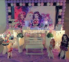 Locação de decoração completa Infantil Ever After High