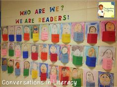 We Are Readers Bulletin Board Display