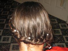 back of wrap braid