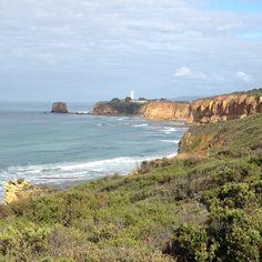 Airey's Inlet lighthouse, near Geelong, Australia.