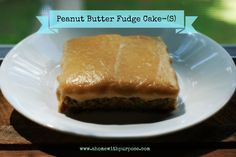 Peanut Butter Fudge Cake! (S) OH MY GOODNESS!! It's so good!