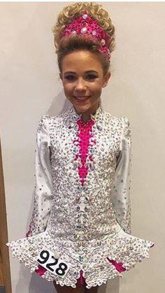 Aliyah in her new dress