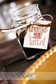 Possibly a wedding favor?  I loooove me some coffee!