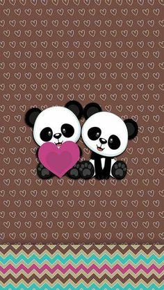 ideas wallpaper fofos preto panda for 2019 Kawaii Cute Wallpapers, Cute Panda Wallpaper, Panda Wallpapers, Animal Wallpaper, Wallpaper Backgrounds, Iphone Wallpaper, Panda Day, Niedlicher Panda, Panda Love