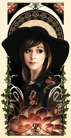 Mucha-inspired Lindsey Stirling