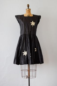 Edie vintage 1920s moon stars costume dress