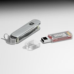 Victorinox Secure SSD Swiss Army Knife | 64GB, 128GB, 256GB sizes, complete with an E-Paper display.