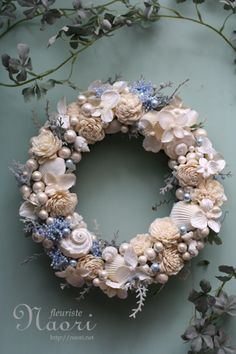 Wreath ~ shells and more...