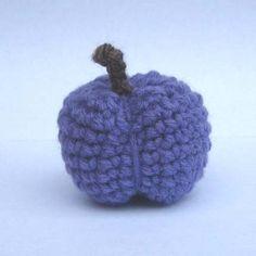 CROCHET N PLAY DESIGNS: Free Crochet Pattern: Plum
