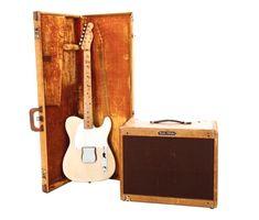 1958 Fender Esquire & 1957 Fender Vibrolux Tweed Amp
