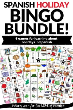 Spanish Holidays - Spanish Bingo Bundle
