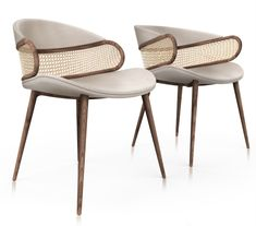 10 Modern Chairs is the ultimate source for dining chairs and armchairs inspiration. Here are Chairs with a Unique Design: Stunning & contemporary Ideas for your Home Décor, designed by Alma de Luce. Rattan Furniture, Home Furniture, Furniture Design, Deco Furniture, Plywood Furniture, Modern Furniture, Luxury Chairs, Luxury Dining Room, Dinning Chairs