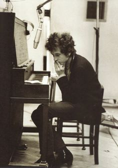 Bob Dylan Folk singer, songwriter and rock icon. Wrote: All Along The Watchtower, Don't Think Twice It's Alright, Lay Lady Lay and Knocking On Heaven's Door.