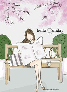 The Heather Stillufsen Collection from Rose Hill Designs Hello Sunday, Hello Weekend, Happy Weekend, Happy Sunday, Sunday Wishes, Sunday Greetings, Weekend Days, Rose Hill Designs, Notting Hill Quotes