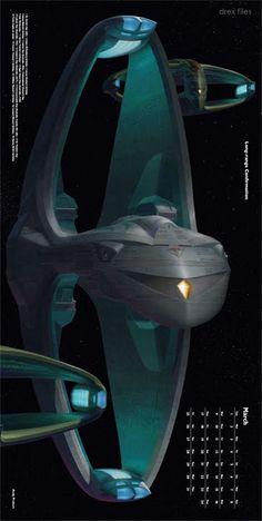 March: Long-range Confirmation by Andrew Probert Star Trek News, New Star Trek, Star Trek Beyond, Akira, Star Trek Images, Ship Of The Line, Star Trek Starships, Star Trek Ships, Star Trek Universe