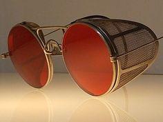 1901-1919 (Edwardian, WWI) Antique Safety Sun Glasses