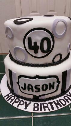 Amy's Crazy Cakes - 40th Birthday Cake