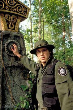 "Stargate Daniel Jackson played by Michael Shanks Season 2 Episode 6 - ""Thor's Chariot"" Michael Shanks, Sci Fi Series, Tv Series, Stargate Movie, Best Sci Fi Shows, Robert Sean Leonard, Edge Of The Universe, Stargate Universe, Richard Dean Anderson"
