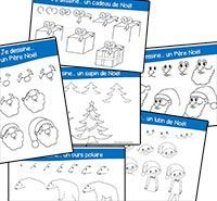 Je dessine Noël - série 2