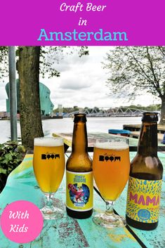 craft beer in Amsterdam with kids!