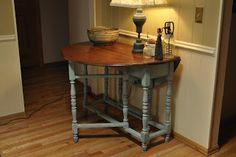 Rosemary Thyme: Grandma's gate leg table