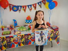 This post is sponsored by Warner Bros. Consumer Products. We were beyond excited to be given the opportunity to host a DC Super Hero Girls themed party for my daughter's 9th birthday! Mikayla loves watching the DC Super Hero Girls episodes on YouTube and role playing the characters with her friends at school, because let's face...Read More »