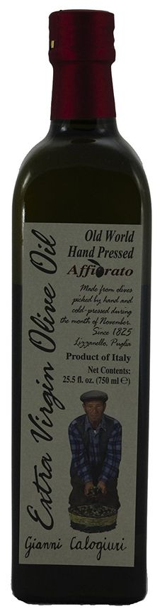 Gianni Calogiuri Affiorato Extra Virgin Olive Oil, 750ml (25.5oz) -- A special product just for you to view. See it now! : Fresh Groceries