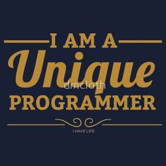 unique programmer #fashionprogrammer #programming #coder #coding #developer #webprogrammer #webprogramming #webdeveloper #softwareengineer #tshirt #geek #fashion