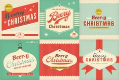 Logo & graphic options for an adult beverage Advent calendar by Dustin Wallace