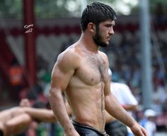 Turkish Oil Wrestling is a totally legit and oh-so-fun-to-watch sport