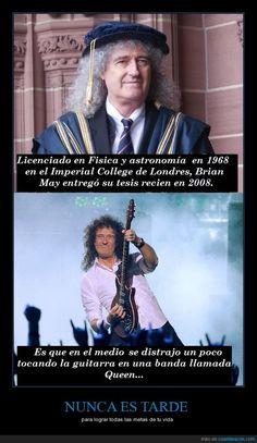 Brian May, guitarrista de Queen, todo un ejemplo a seguir - para lograr todas las metas de tu vida   Gracias a http://www.cuantarazon.com/   Si quieres leer la noticia completa visita: http://www.estoy-aburrido.com/brian-may-guitarrista-de-queen-todo-un-ejemplo-a-seguir-para-lograr-todas-las-metas-de-tu-vida/