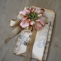 One Lucky Day: Tag instructions w/glitter scroll instructions!