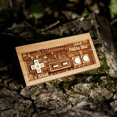 "it8bit: "" NES Controller Laser Etchings Created by Spitfire Labs """