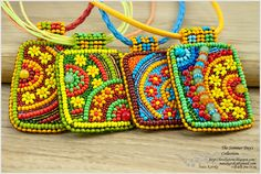 Bead Embroidery LovelyStone: The Summer Day's Collection