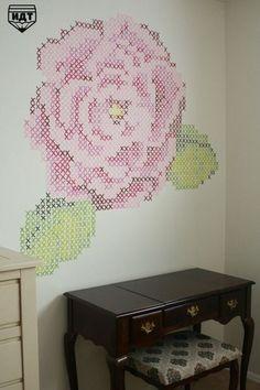 Cross stitching Wall Decor